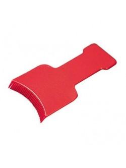 Palette d'application plastique dentée